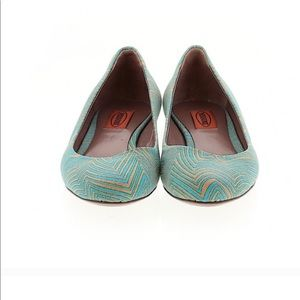 Missoni sz 38 Ballet Flat Geometric Design Shoes